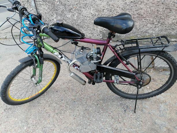 Rower z silnikiem 80 cc nowy