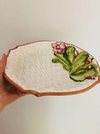 Półmisek, porcelana włoska, 32/26 cm