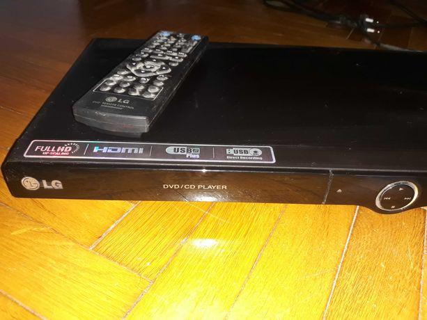 Odtwarzacz DVD LG czarny - stan jak nowy