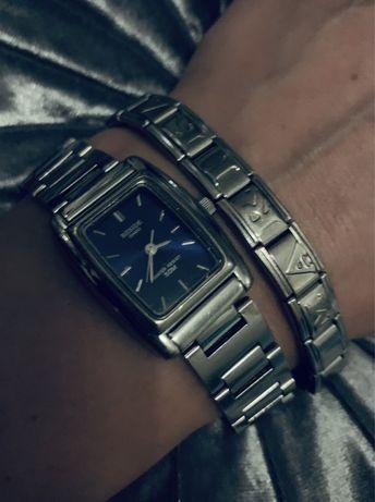Часы женские casio с браслетом marika  оригинал