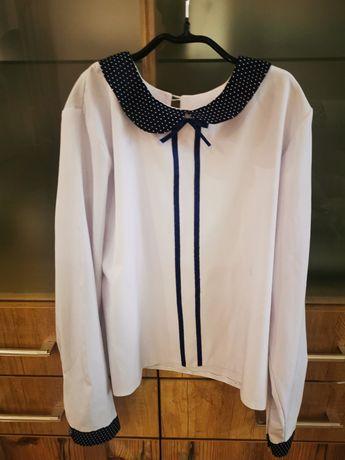 Блуза школьная р.140