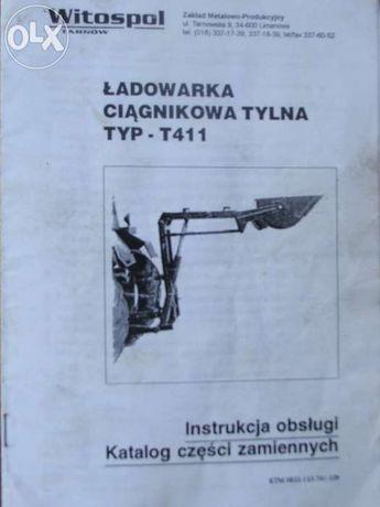 Instrukcja obsługi Ładowarka, opryskiwacz, przetrząsarka