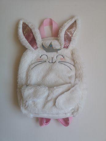 Plecak królik, Plecaczek, plecak dla dziewczynki