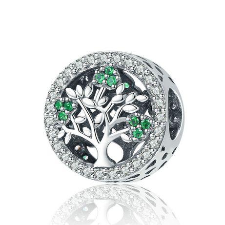 Charms Drzewo życia Rodzina do Pandora srebro 925 AN3007 Ponad 100wzor