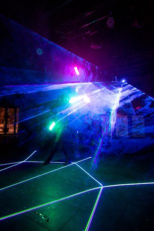 Лазерне шоу (лазерна анімація)