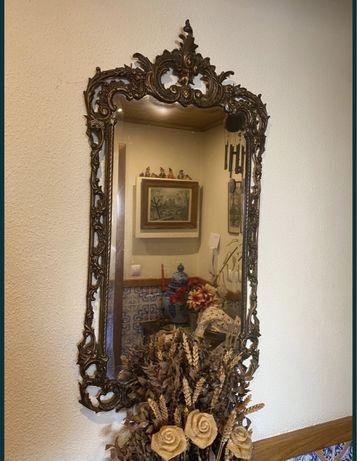 RESERVADO - Espelho antigo ferro