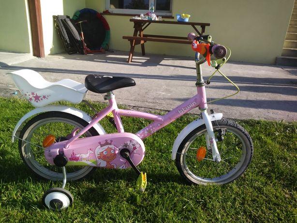 Rower dzieciecy dla dziewczynki
