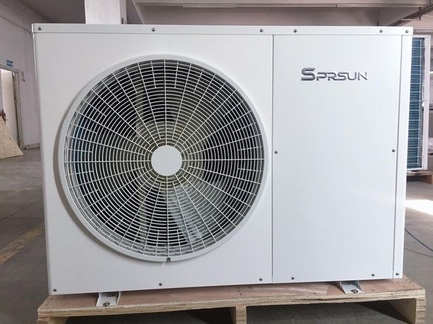 Pompa ciepła SprSun 9,5kW monoblok inwerter A+++ WiFi CGK030V2 montaż