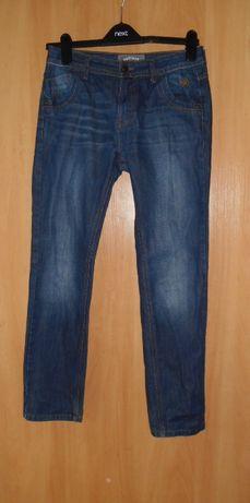 джинсы подростковые на 12-13 лет примерно узкие скины Fatface