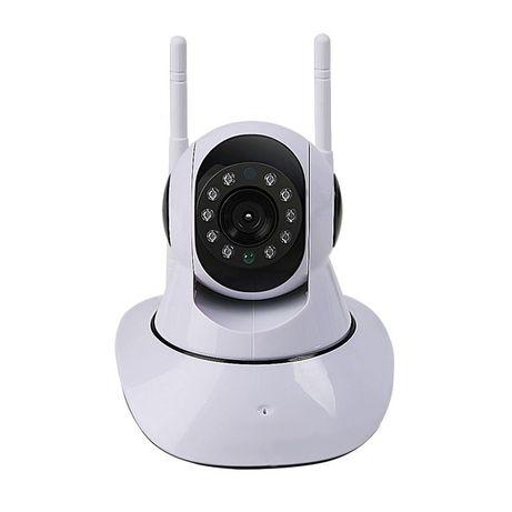 Câmara vigilância FullHD sem fios, com visão noturna coluna de som
