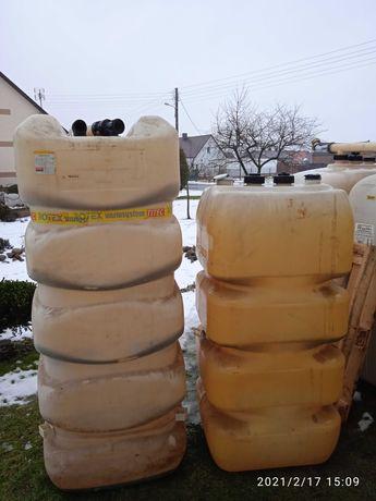 Mauzer zbiornik na wodę szambo deszczówkę 750 l paliwo800  ciecz 1000