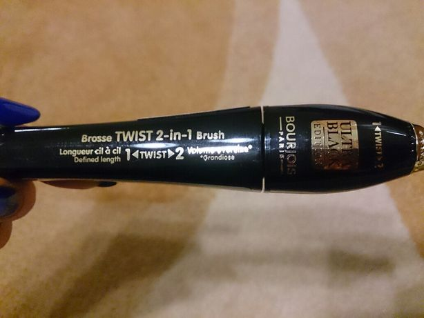 Tusz do rzęs Bourjois Twist up the volume, ultra black