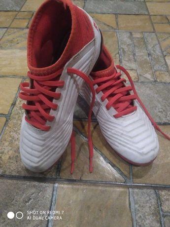 Детские копы Adidas Predator 33 р, 21 см