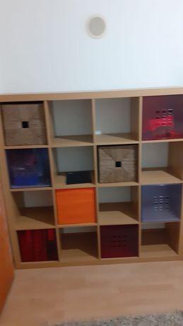 Kallax estante carvalho IKEA