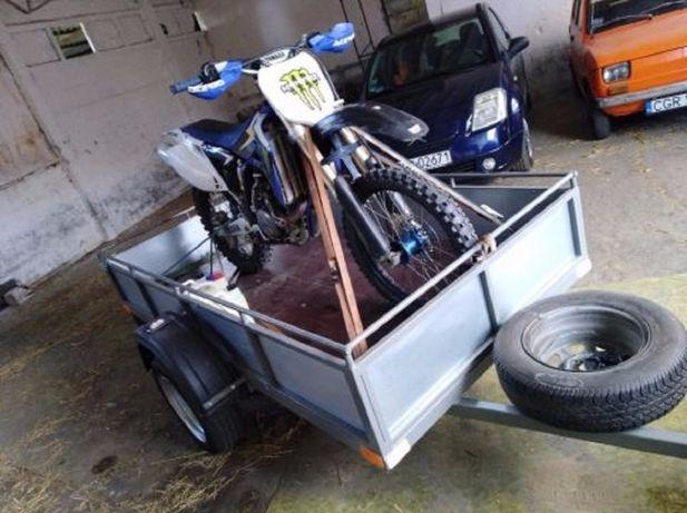 wynajem przyczepki transport quad motor motocykl