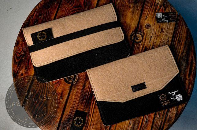 Фетровый войлочный чехол на MacBook Air/Pro/11/12/13/15/16 Макбук