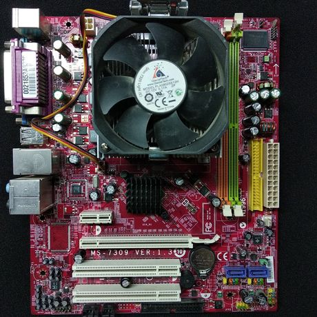 AMD Athlon 64 X2 5200+   2GB DDR2  Материнская плата MSI (K9N6PGM2-V)