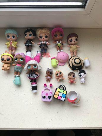 коллекция куколок lol