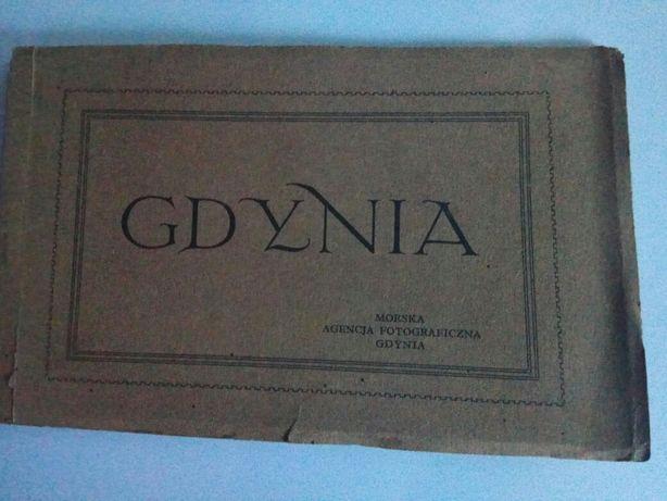 Gdynia - kolekcja stare pocztówki