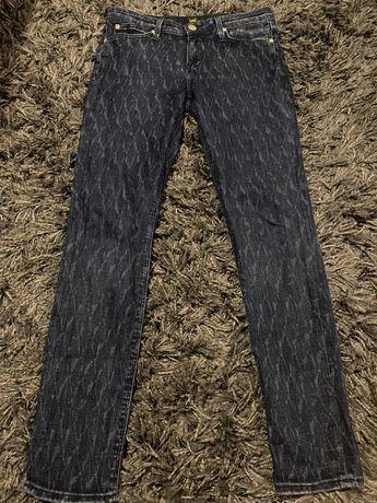 Lee Scarlett W28 L31 rurki spodnie jeansy