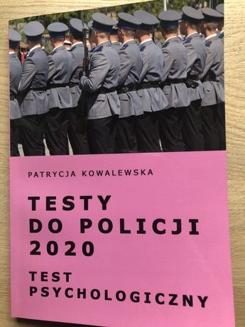 Testy do policji 2020