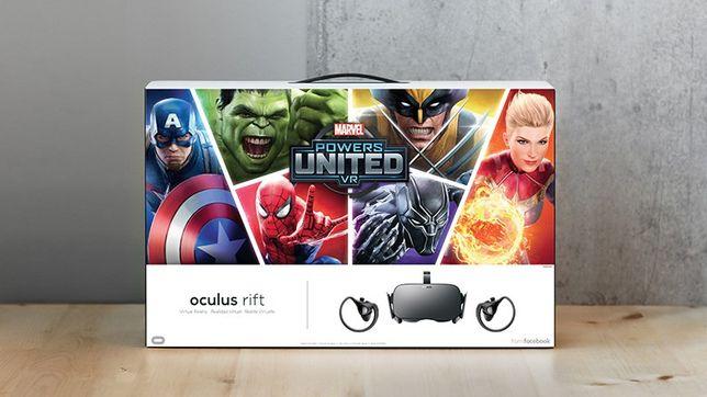 VR Oculus Rift CV1 Marvel edition - Realidade Virtual