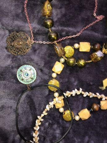 Biżuteria korale naszyjnik