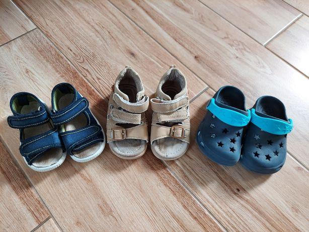 Sandały dla chłopca rozmiar 21