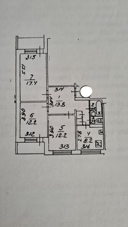Продажа 3-х комнатная квартира, ул.Жолудева,4 Святошинский район