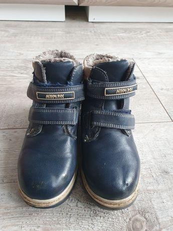 Buty chlopiece jesienno zimowe