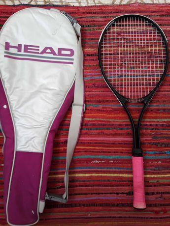 Raquete ténis Dunlop Power Play Senior com saco