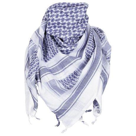 MILIARIALODZ.PL Arafatka Niebiesko- Biała MFH