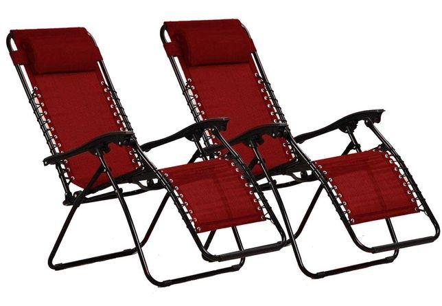 OUTLET  krzesło leżak ogrodowy plażowy regulowane turystyczne składane