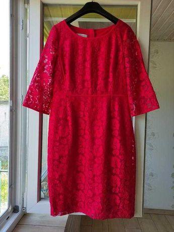 Шикарное платье миди из кружева от Hobbs