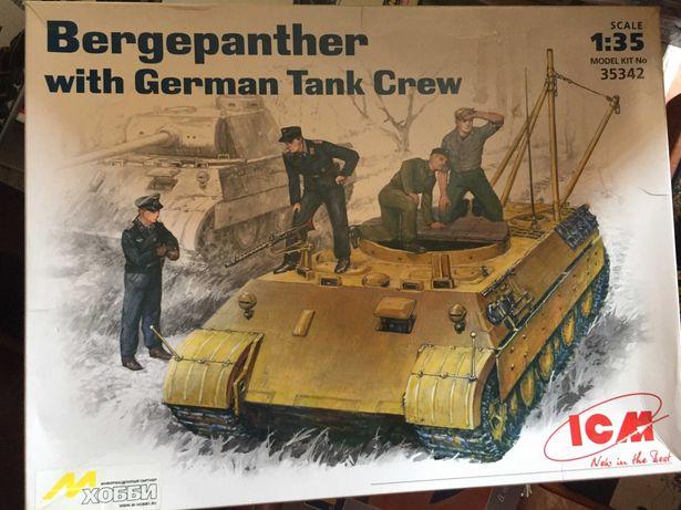 Модель Bergepanther Ремонтно-эвакуационная машина. 1:35 (ICM 35342)