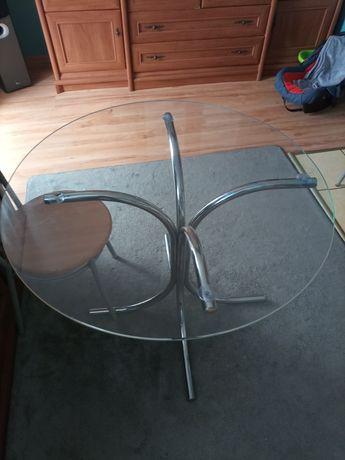 Stolik szklany w bardzo dobrym stanie