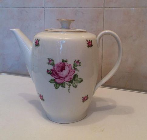 Фарфоровый чайник-заварник ГДР
