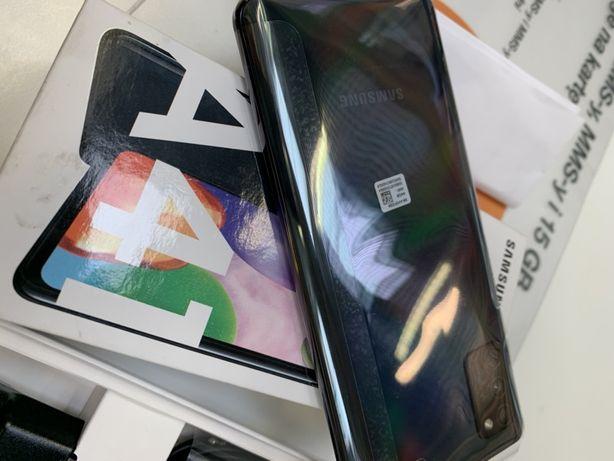 Samsung A41 nowy czarny gw 24 mc