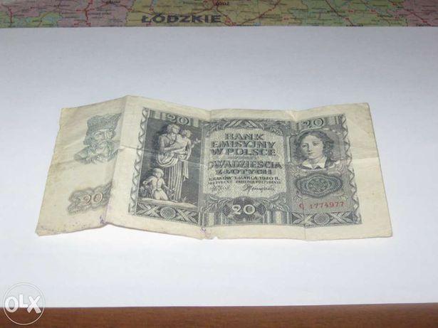 banknoty i monety sprzedam lub zamienię