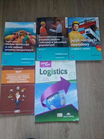 Książki- Technik Logistyk