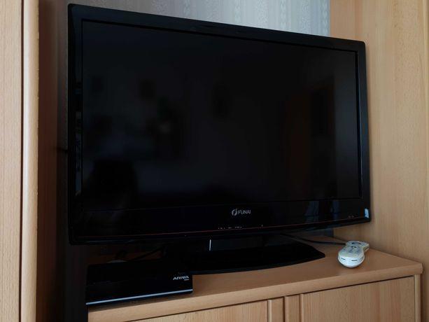 Zestaw: telewizor płaski FUNAI +dekoder naziemnej tv cyfrowej Ferguson