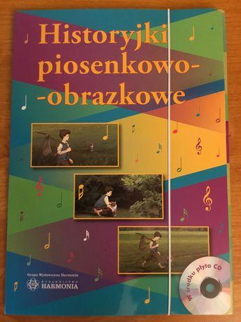 Historyjki piosenkowo - obrazkowe + płyta CD Wyd. Harmonia