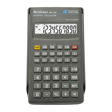 Инженерный калькулятор Brilliant BS-120