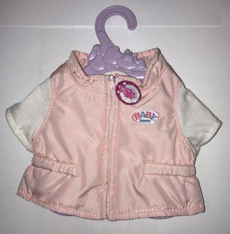 Оригинальная жилетка с футболкой Для кукол Baby Born