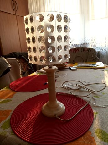Lampka nocna z bazur