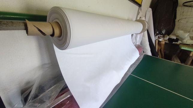 Rolka bawełna 100% 1,6 x 100 m  bawełna biała materiał na maseczki