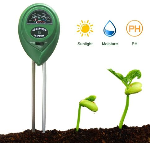 Testador do solo (Óptimo para jardins ou plantas em casa) Novo