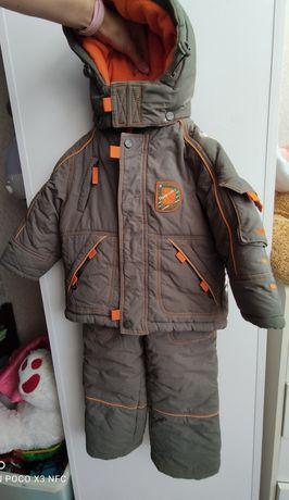Зимний комбинезон костюм полукомбинезон куртка donilo