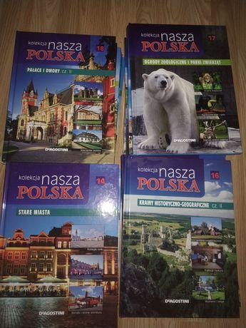 Książki kolekcja Polska