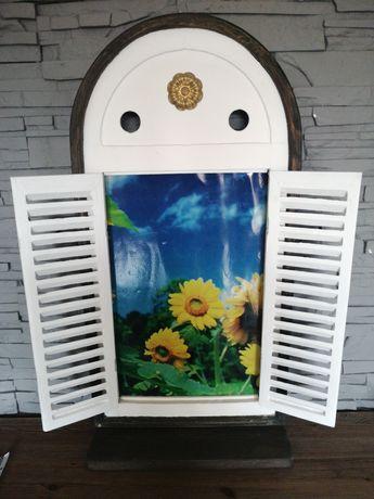 Okiennica dekoracja okno prowansja
